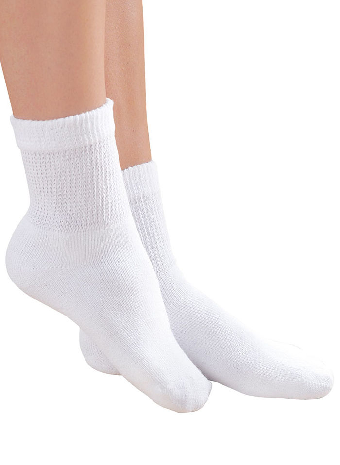 Women's Diabetic Crew Socks