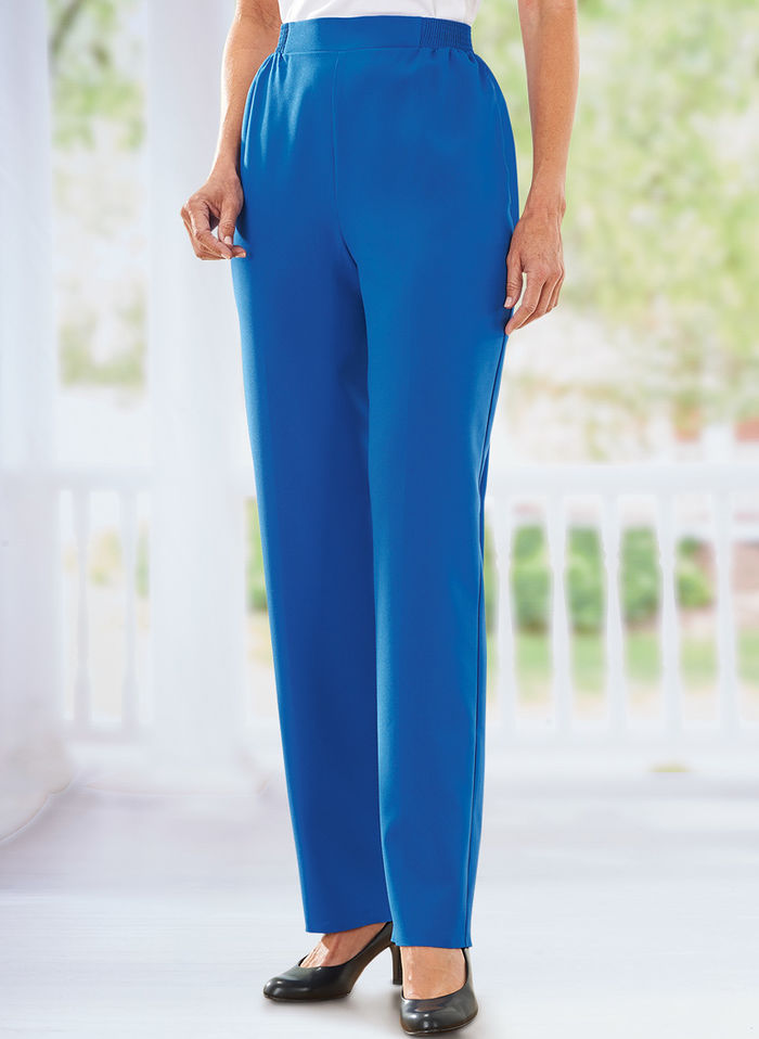 Bend Over® Flat Front Pant