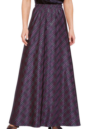 Plaid Taffeta Skirt - AmeriMark - Online Catalog Shopping for ...