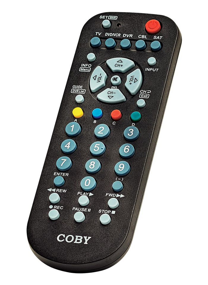 Coby 5 In 1 Universal Remote Amerimark