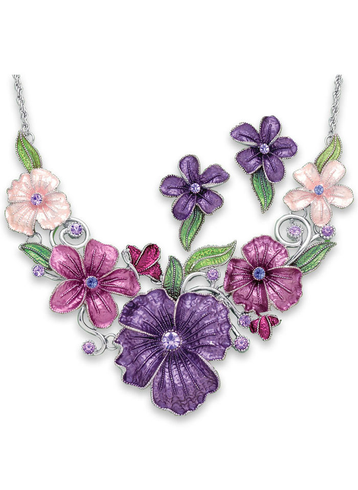 Colorful Bouquet Jewelry