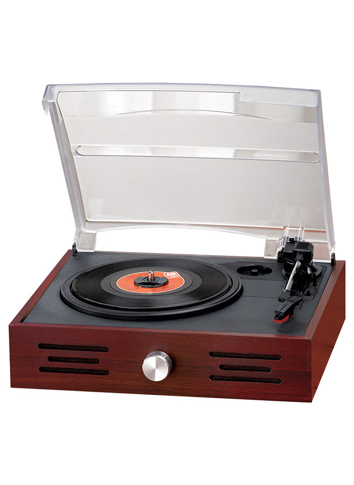 Turntable with BuiltIn Speaker  AmeriMark  Online Catalog Shopping