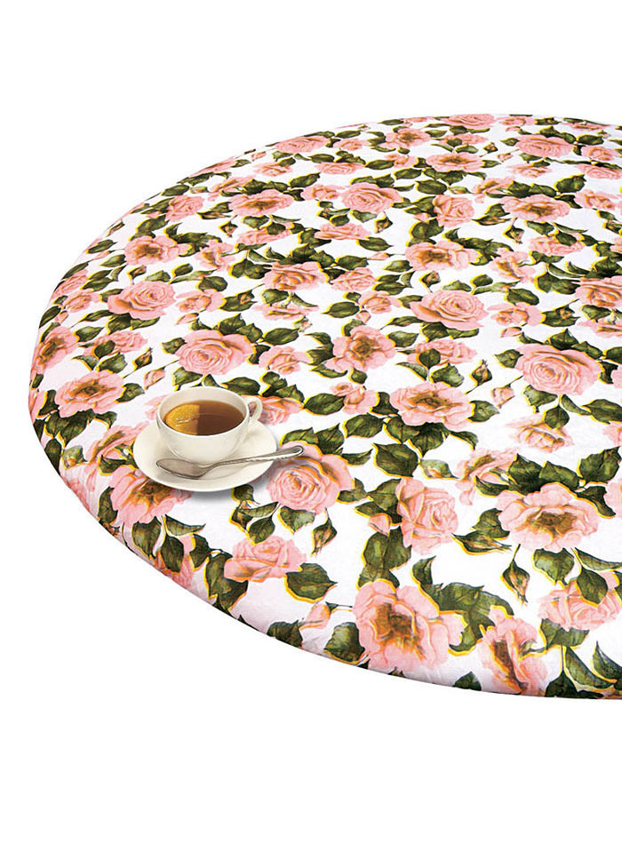 Round Elasticized Tablecloth