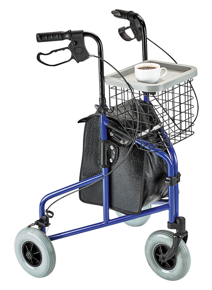Three-Wheel Rollator