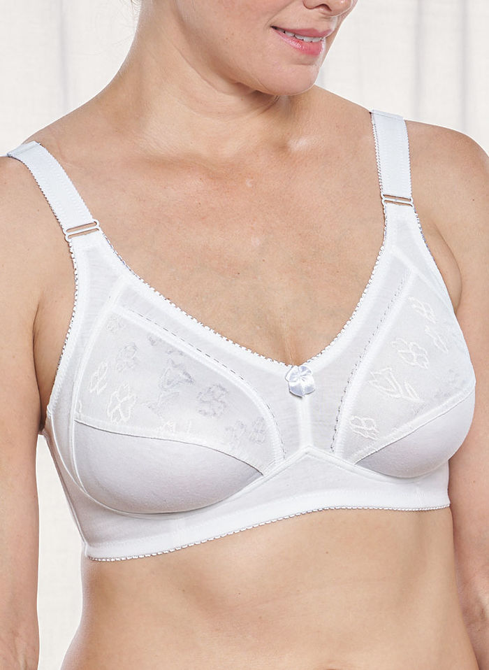 Embroidered Detail Bra