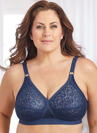 5c55fe2ad1daf0 Main Valmont® Lace Soft-Cup Crossover Bra ...
