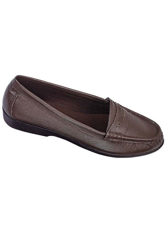 Bella Leather Penny Loafer