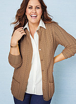 Product Review Cable Stitch Cardigan