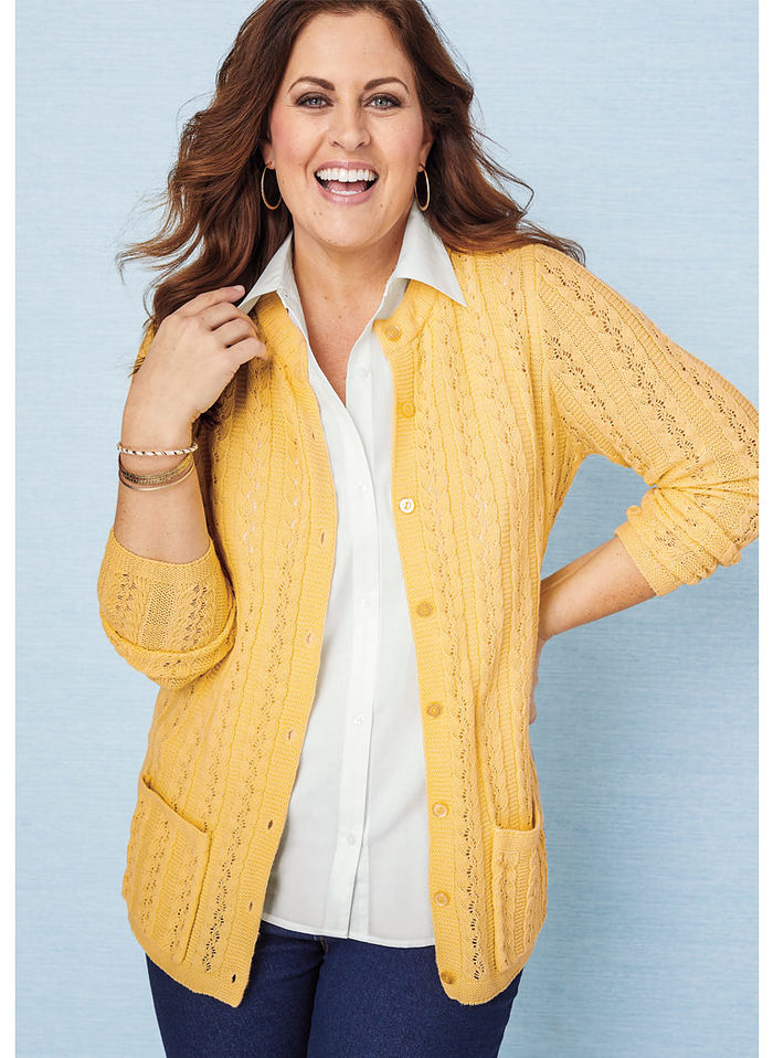 Cable Stitch Cardigan