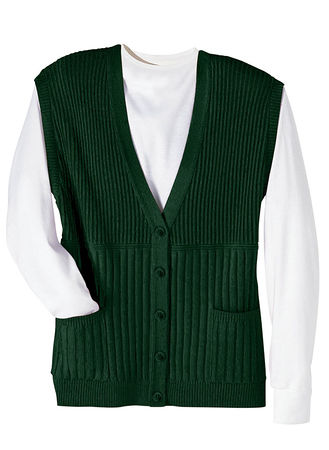 Cardigan Sweater Vest - AmeriMark - Online Catalog Shopping for ...
