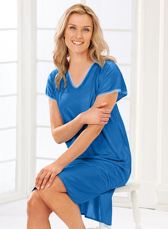 Silky Nightgown - AmeriMark - Online Catalog Shopping for Womens ...