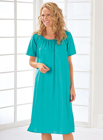 Main Silky Nightgown Two-Pack