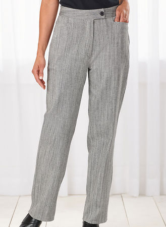 Main Herringbone Pants