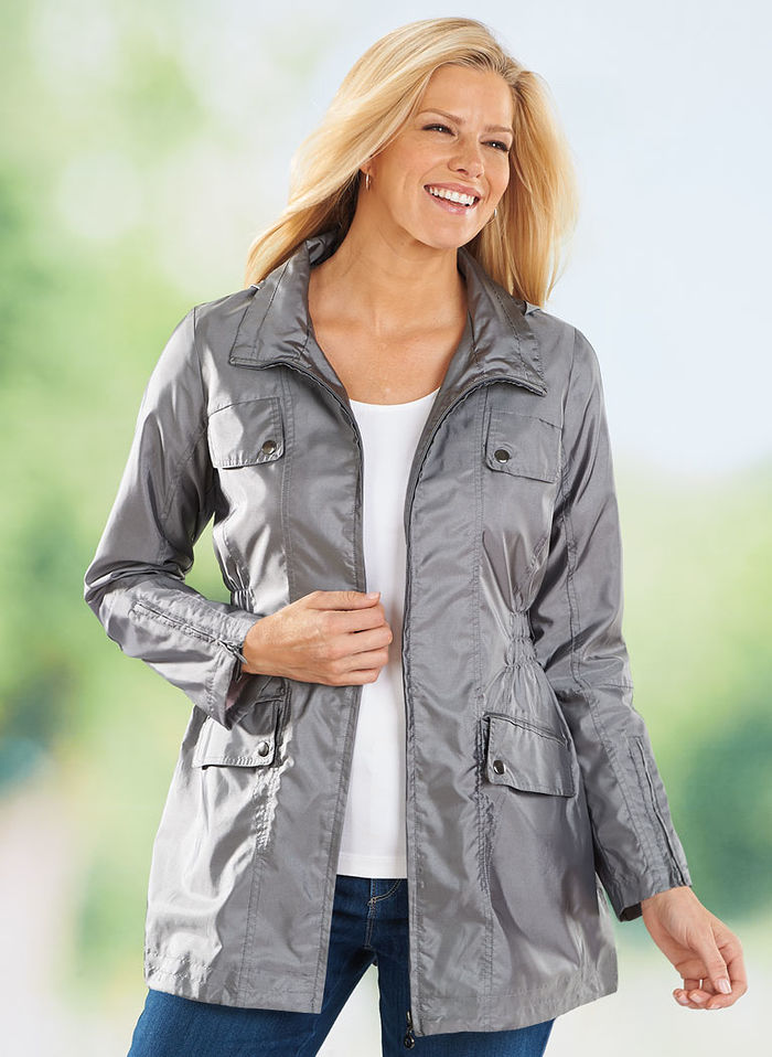 Stylish Anorak Coat