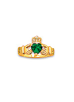 Product Review Emerald Claddaugh Ring