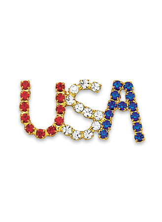 Main Shining USA Pin