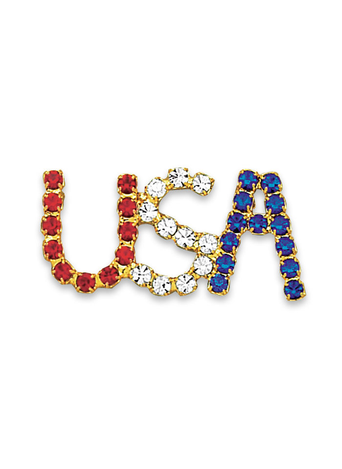 Shining USA Pin