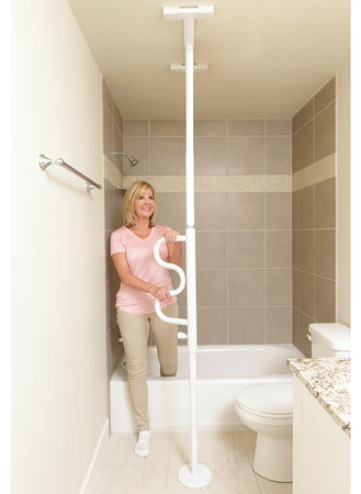 Main Security Pole With Grab Bar
