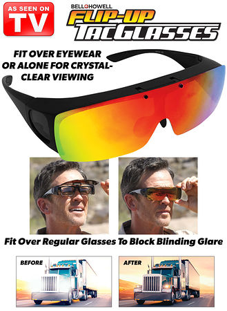 Main Bell+Howell® Flip-Up Tac Glasses