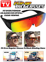 Product Review Bell+Howell� Flip-Up Tac Glasses