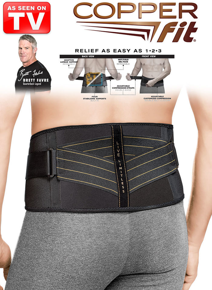 Copper Fit® Advanced Back Pro