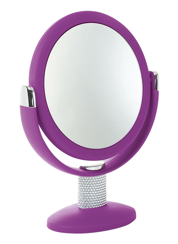 Stylish 1X/10X Swivel Mirror