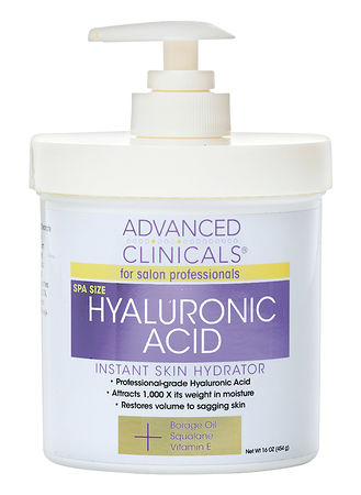 Main Advanced Clinicals Hyaluronic Acid Instant Skin Hydrator