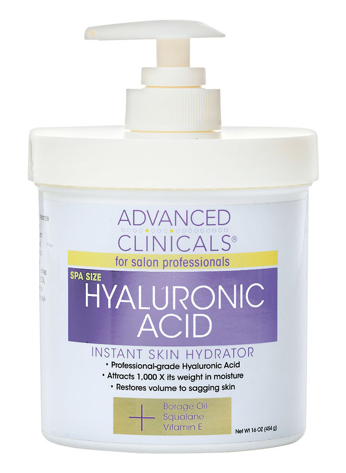 Advanced Clinicals Hyaluronic Acid Instant Skin Hydrator