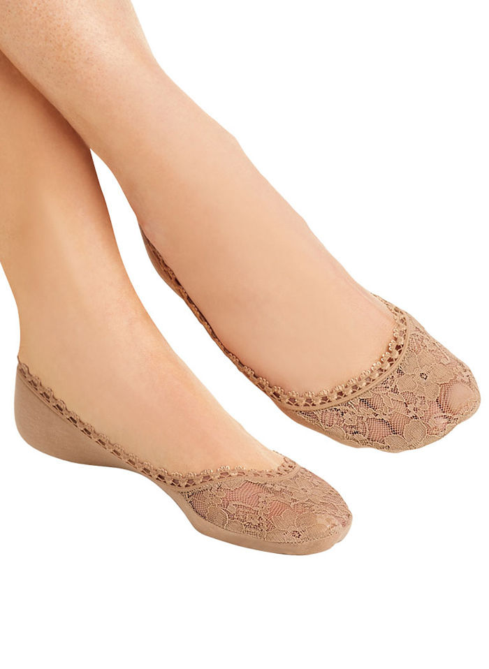 Lace Footies For Shoes