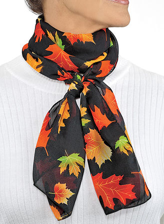 Main Fall Leaves Scarf