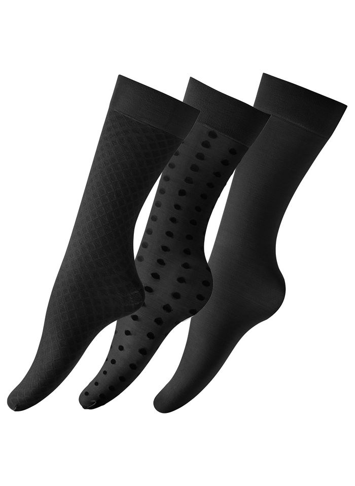 Textured Compression Knee-Highs - Regular