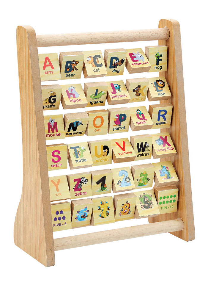 ABC/123 Wooden Abacus