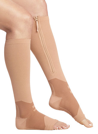 Main Arch Support Zipper Compression Socks