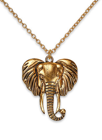 Main Exotic Elephant Pendant