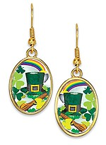 Product Review Charming Leprechaun Earrings
