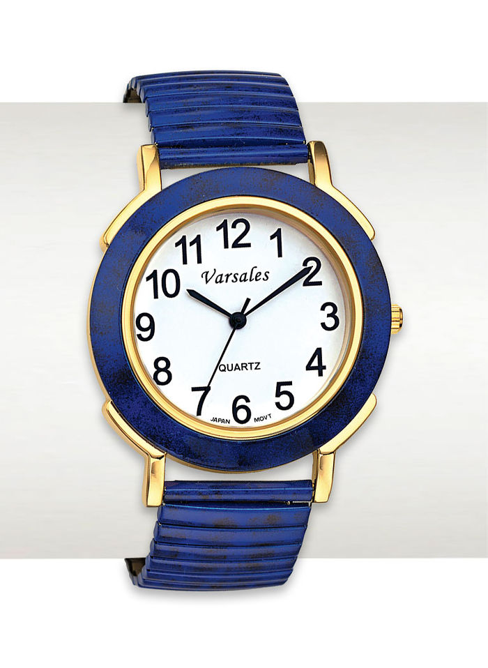 Classic Navy Stretch Watch
