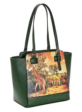 Main Giraffe Parade Handbag