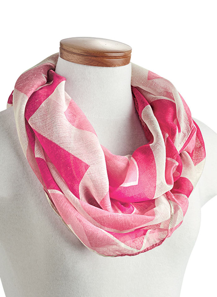 Pretty Peppermint Scarf
