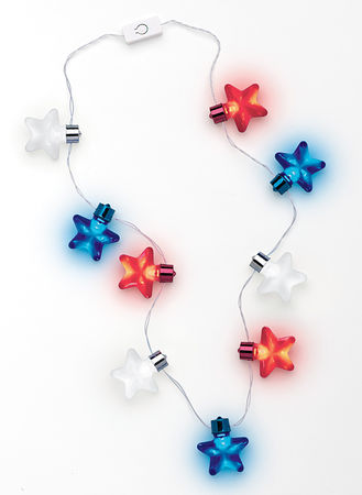 Main Patriotic Light-Up Necklace
