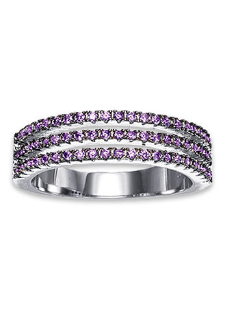 Main Violet Splendor Ring