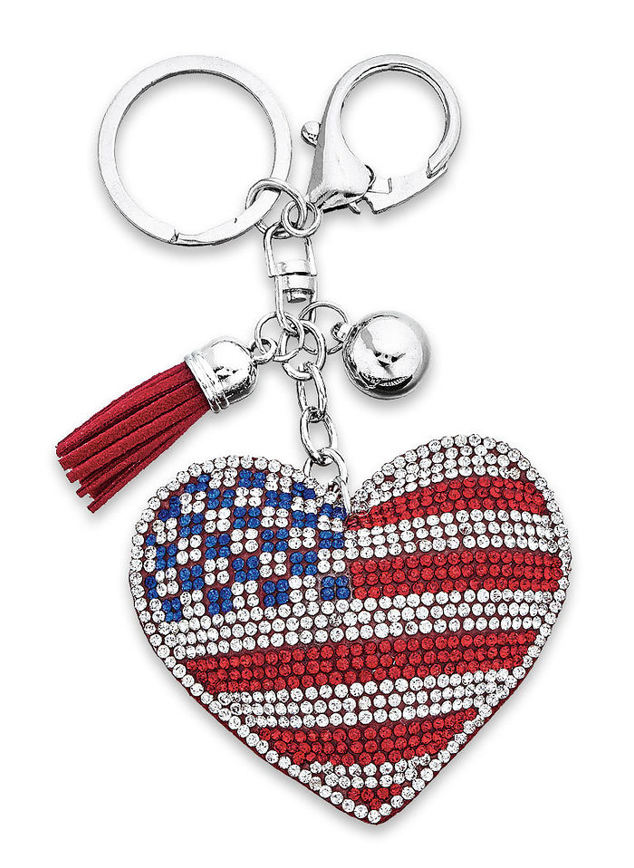 Love for America Keychain