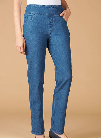 Main Pull-On Jeans