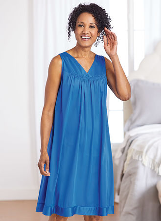 7a6f48d0a72 Exquisite Form® Sleeveless Nightgown | AmeriMark