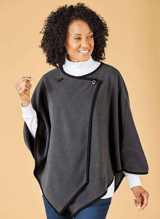 Main Fleece Poncho