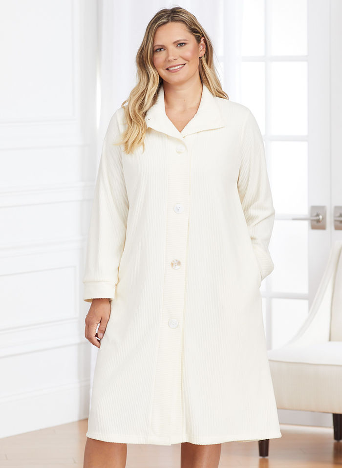 Chenille Short Robe