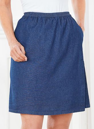 Main Denim Skort