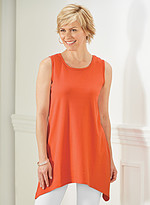 Product Review Sleeveless Arch Hem Tunic