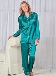 Brushed Back Satin PJs 026239d12