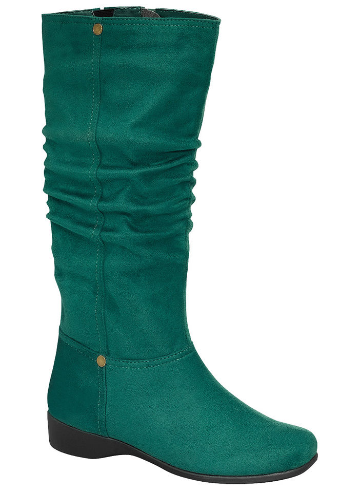 Adina Slouch Boot - Wide Calf