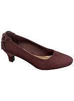 Product Review Mattie Microsuede Pump